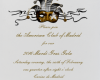 YOU'RE INVITED TO THE AMERICAN CLUB'S MARDI GRAS GALA!