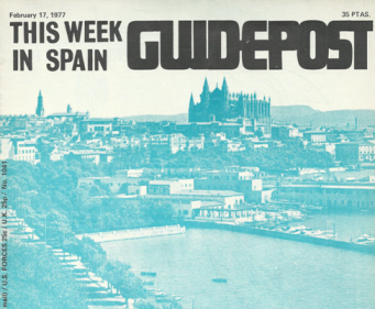 Palma de Mallorca, 39 YEARS AGO IN GUIDEPOST