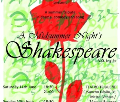 THE MADRID PLAYERS' 400TH-ANNIVERSARY TRIBUTE TO WILLIAM SHAKESPEARE!