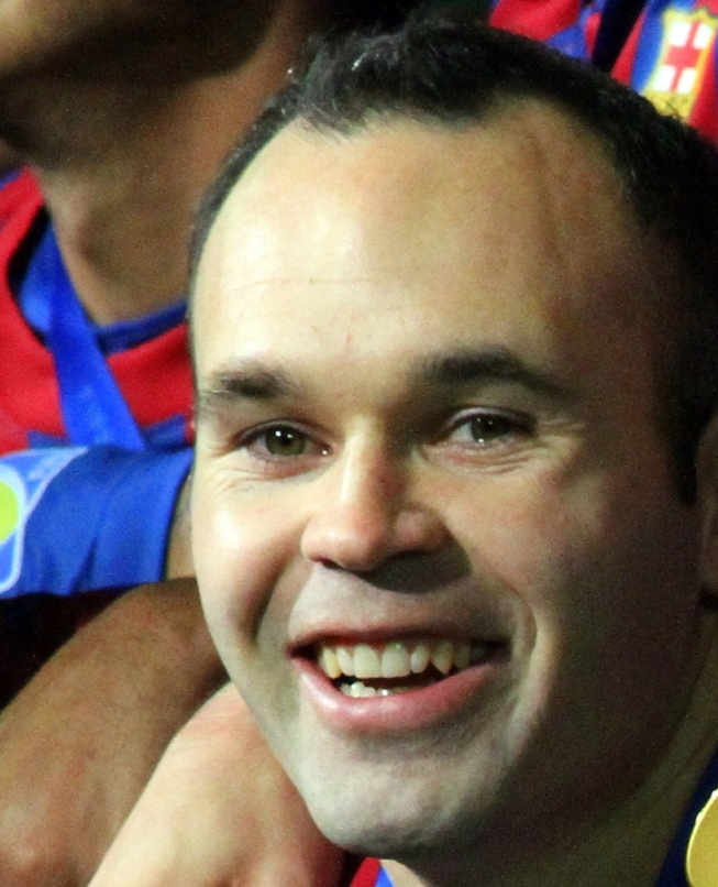 AT THE SPAIN VS. TURKEY EURO 2016: INIESTA, THE MAN OF THE MATCH