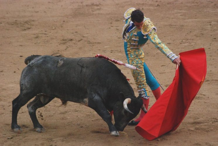 THE GORE AND GLORY OF SPANISH CORRIDA,1986