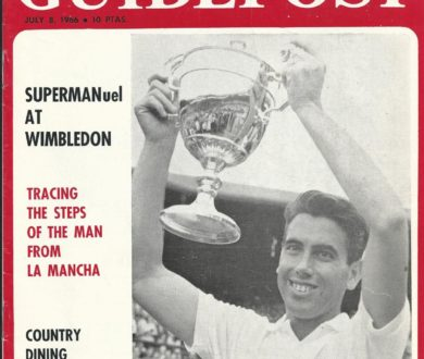 IT SEEMS ONLY YESTERDAY BUT IT'S BEEN 50 YEARS: SUPERMANuel SANTANA