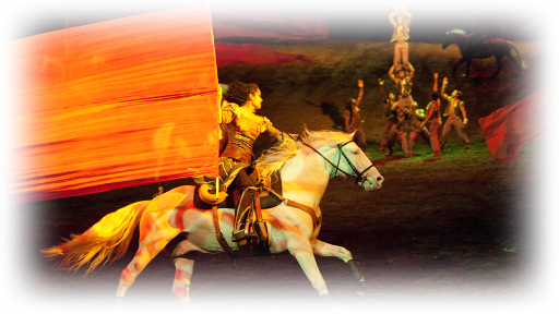 CAVALIA'S ODYSSEO: If wishes were horses . . .