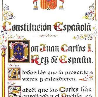 IT'S CONSTITUTION DAY, ¡VIVA ESPAÑA!