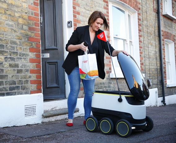 Lamb Cutlets Home-Delivered by Robot!