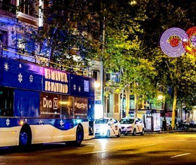 MADRID LIGHTS UP — HOP ON THE CHRISTMAS BUS!