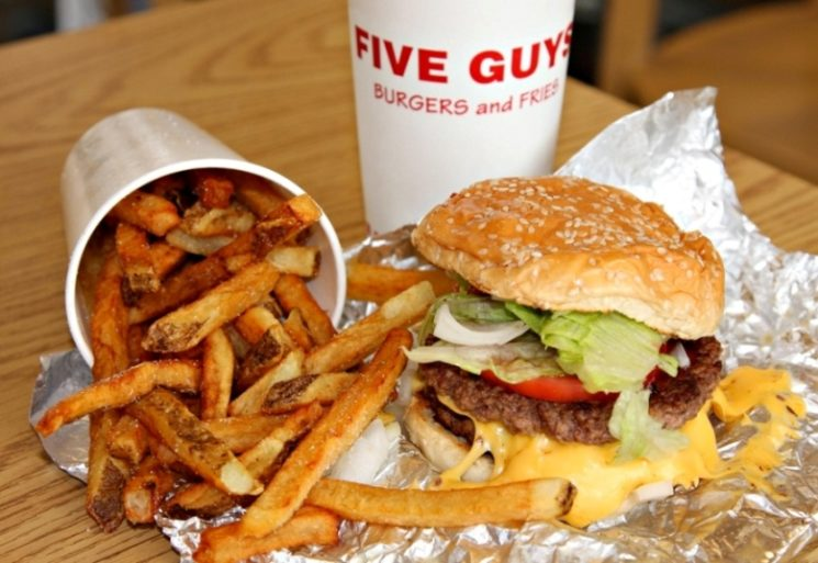MONEY MATTERS: FIVE  GUYS CALLAO BEATS TIMES SQUARE