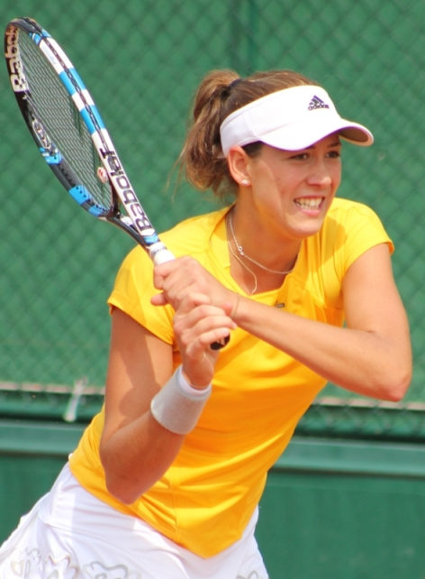 GARBIÑE MUGURUZA, 2017 QUEEN OF GRASS AND SPEED