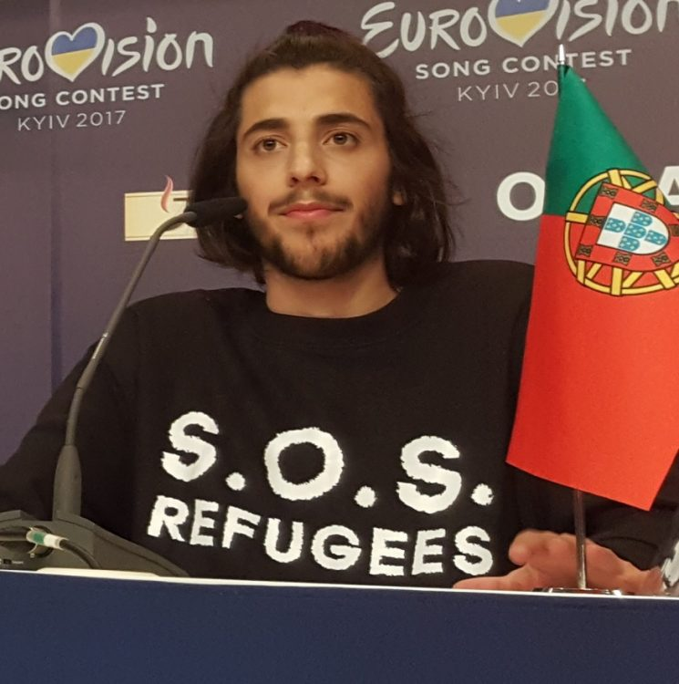 "SALVADOR SOBRAL: ""Don't Know Why You Say Goodbye, I Say Hello"""