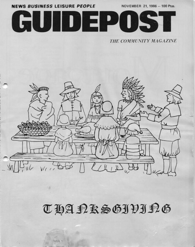 "A GUIDEPOST REPRINT: ""Talking Turkey,"" 21 November 1986"