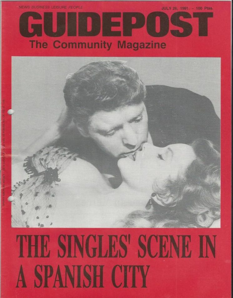 "A GUIDEPOST REPRINT: ""LOOKING FOR THAT SPECIAL SOMEONE,"" 26 July 1991"