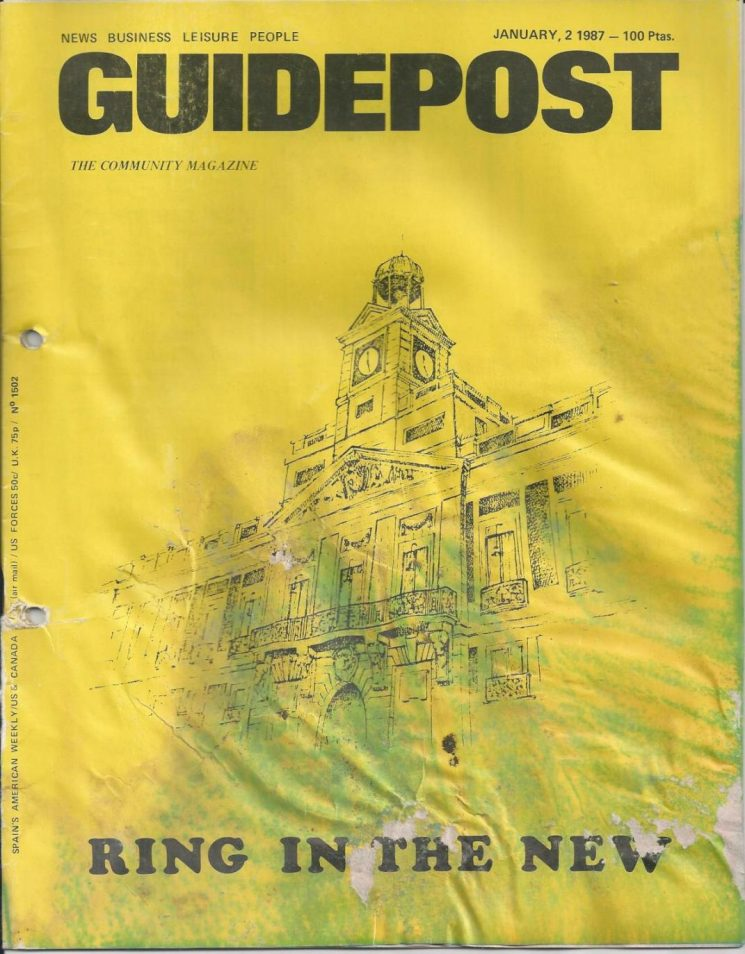 """A GUIDEPOST REPRINT: """"OUT AND ABOUT IN MADRID — RING IN THE NEW,"""" 2 JANUARY 1987"""