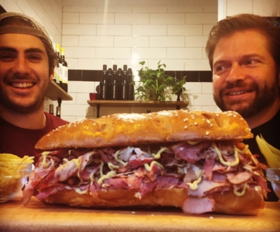 The Quest for a Good Reuben Sandwich