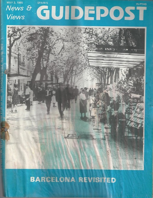 """GUIDEPOST REPRINT: BARCELONA — A CITY FOR CHILDREN OF ALL AGES"""", 3 May 1985"""