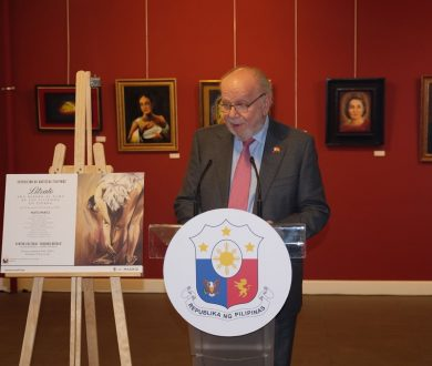PHILIPPINE EMBASSY LAUNCHES EXHIBIT OF  MADRID-BASED FILIPINO ARTISTS
