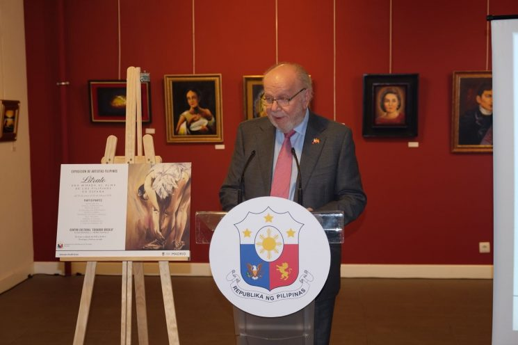 PHILIPPINE EMBASSY LAUNCHES EXHIBIT OF  MADRID-BASED FILIPINO ARTISTS