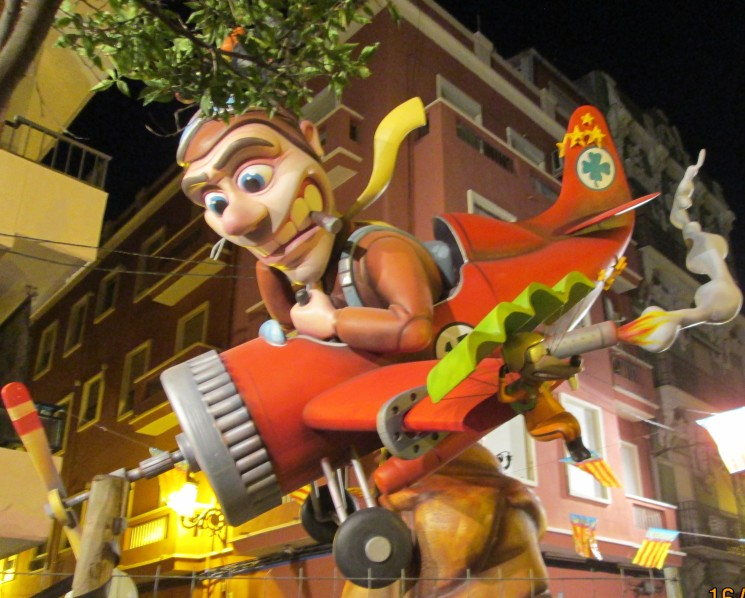 A WEEKEND AT THE FALLAS IN VALENCIA