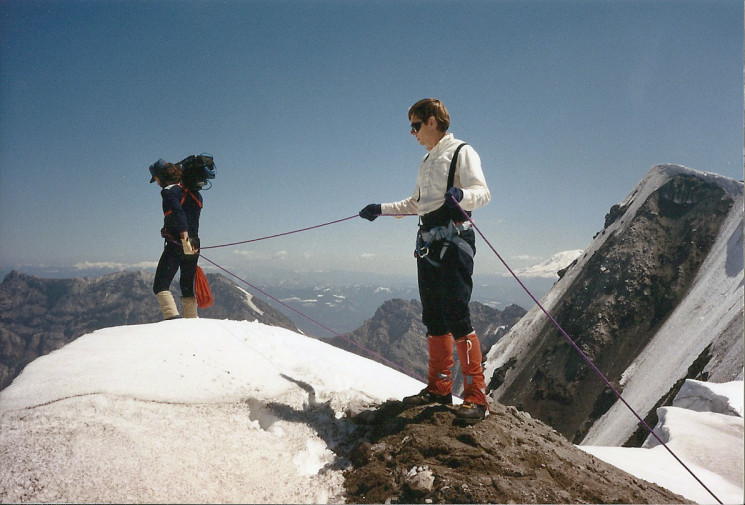 THE LAST ASCENT OF MOUNT ST. HELENS