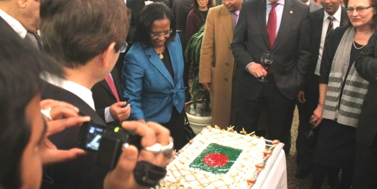 MADRID BANGLADESHIS CELEBRATE 44 YEARS OF INDEPENDENCE