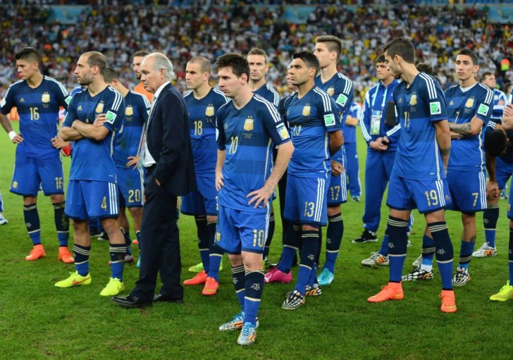 WORLD CUP FINAL:  There was no Maradona to Bag the Trophy  for the Argentines