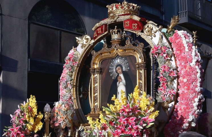 HAVE A GREAT WEEKEND. JOIN THE FIESTA OF THE VIRGEN DE LA PALOMA!