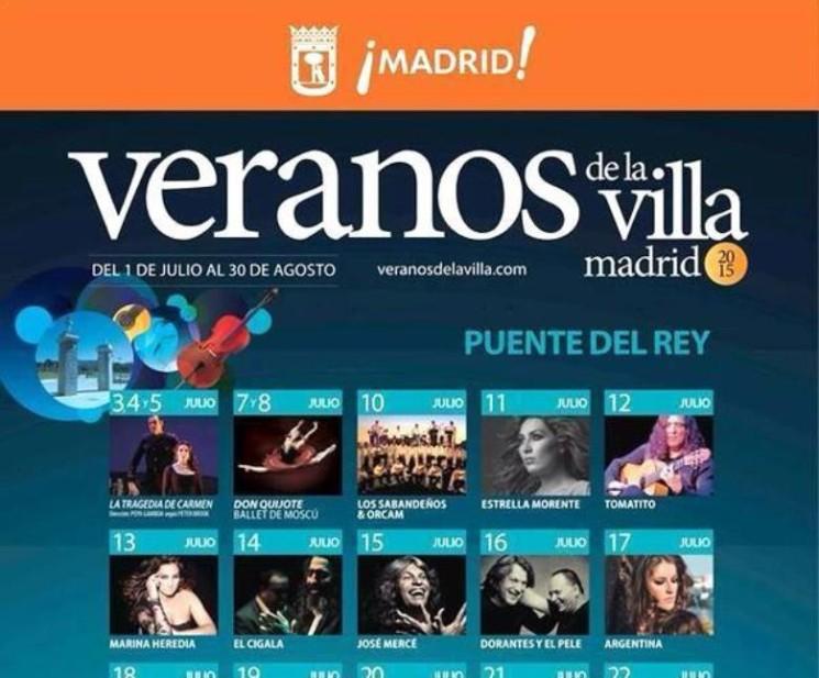 SUMMER IN THE CITY: Veranos de la Villa 2015