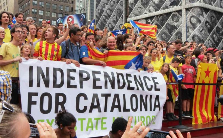 CATALONIA & SARAWAK: The Issue of Independence from West to East