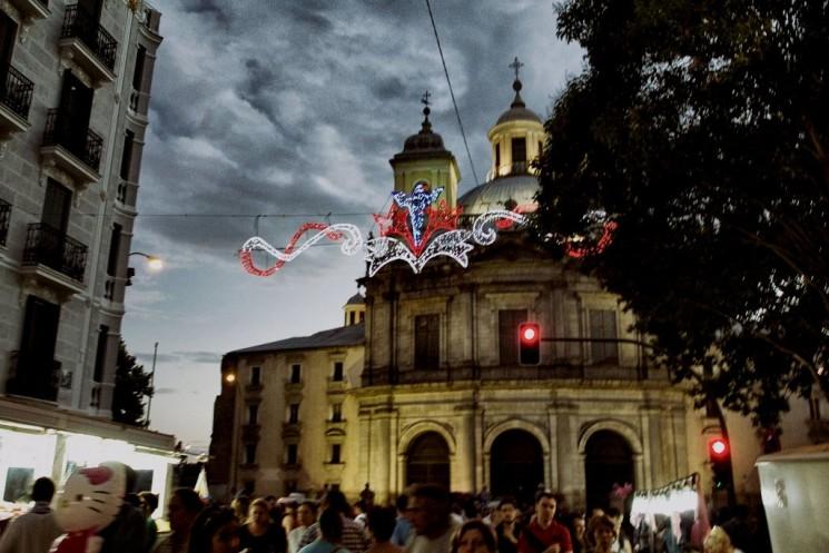 MUSIC, MOJITOS & MADRID: Festival de la Virgen de la Paloma
