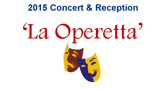 "THE BRITISH BENEVOLENT FUND PRESENTS ""LA OPERETTA"" CONCERT & RECEPTION"