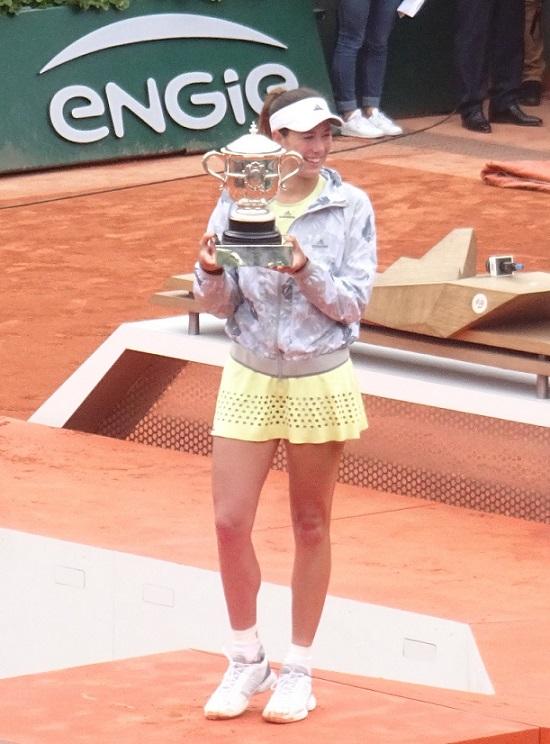 MUGURUZA JUST MIGHT TAKE WTA INTO A NEW AGE!