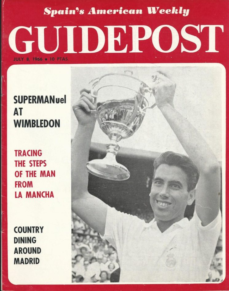 "GUIDEPOST REPRINT: ""SUPERMANuel at Wimbledon"", 8 July 1986"