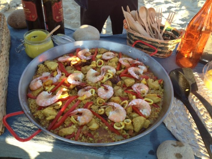 PAELLA ON FOREIGN SHORES