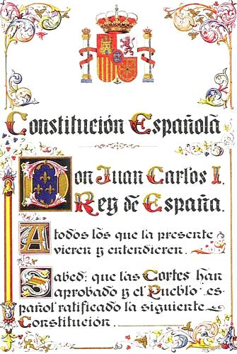IT'S CONSTITUTION DAY, ¡VIVA ESPAÑA!