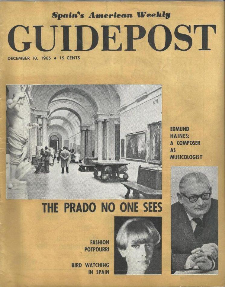 """A GUIDEPOST REPRINT: """"THE PRADO NO ONE SEES"""""""