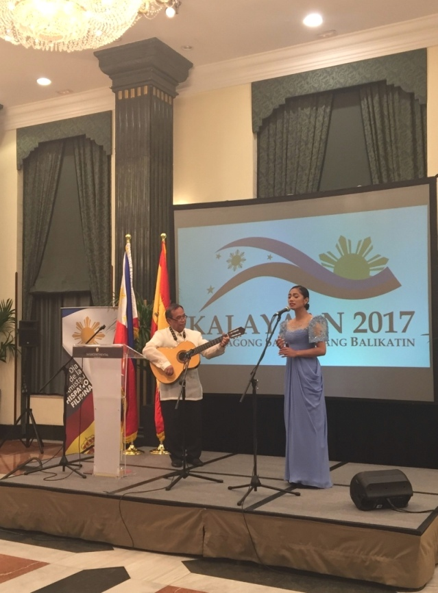 THE PHILIPPINE EMBASSY CELEBRATES THE PHILIPPINES' SPECIAL FRIENDSHIP WITH SPAIN EVEN AS IT COMMEMORATES ITS INDEPENDENCE FROM IT