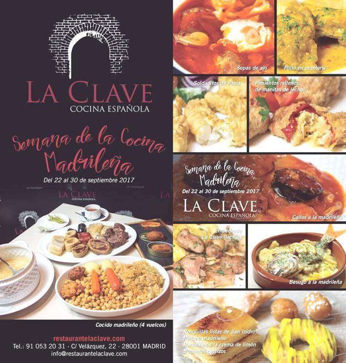 COCINA MADRILEÑA AT LA CLAVE: THE WAY TO MADRID'S HEART IS THROUGH THE STOMACH