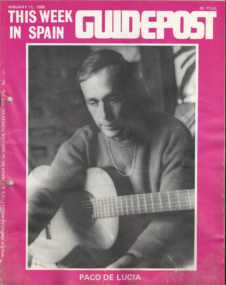 "A GUIDEPOST REPRINT: ""SPAIN'S MOST FAMOUS FLAMENCO GUITARIST,"" Part 1, 11 JANUARY 1980"