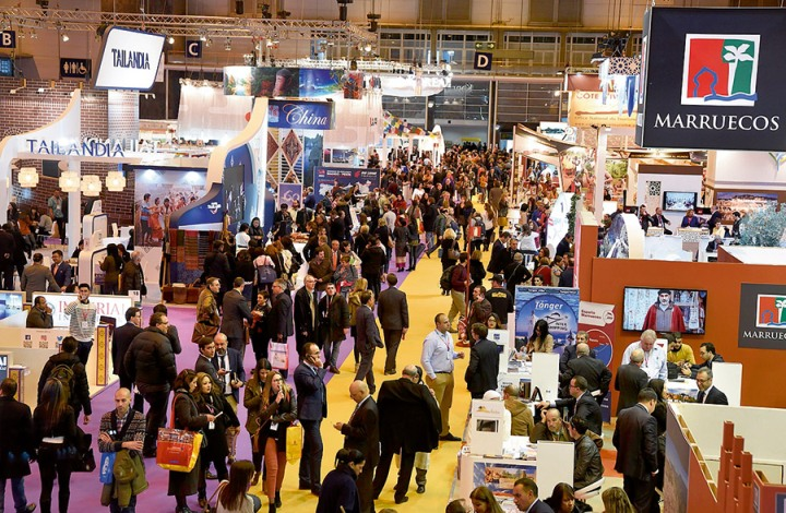 FITUR TRAVEL & TOURISM CONVENTION AT IFEMA, THE MADRID CONVENTION CENTRE  2018