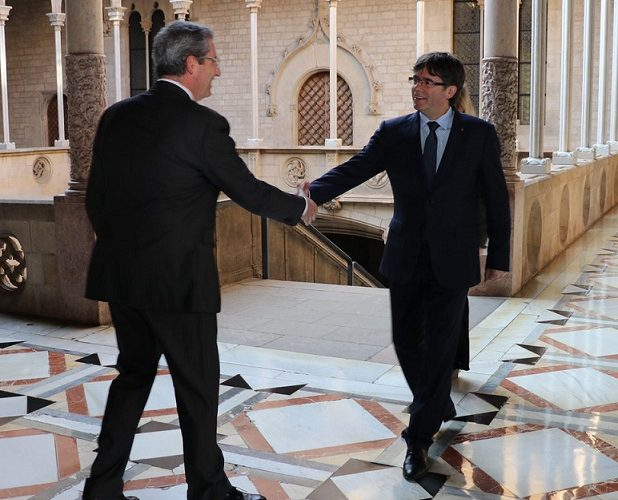 PUIGDEMONT, FROM PALACE TO PRISON?