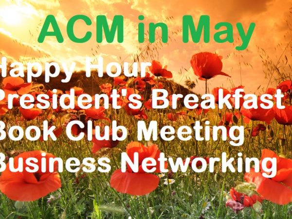 THE AMERICAN CLUB OF MADRID AND THE MARVELOUS MONTH OF MAY!