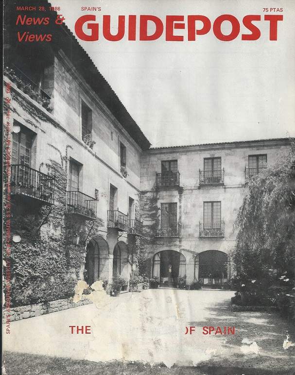 "A GUIDEPOST REPRINT: ""THE MANY FACES OF SPAIN,"" 28 March 1986"