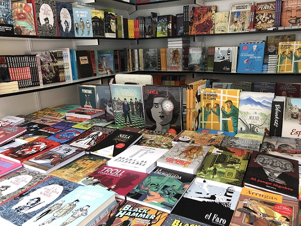 """ON THE """"DEATH"""" OF BOOKS: THE MADRID BOOK FAIR 2018"""