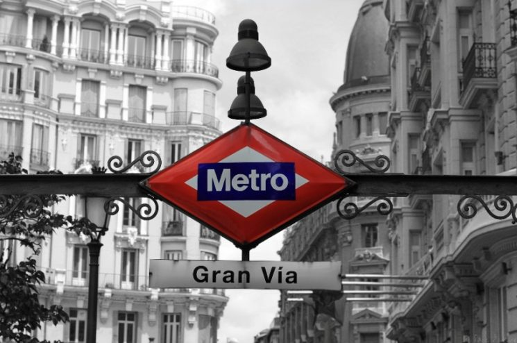 JUST SO YOU KNOW: THE GRAN VIA METRO STATION IN MADRID IS CLOSED  TILL 13 APRIL 2019