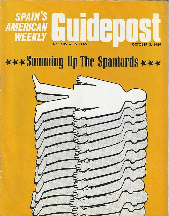 "GUIDEPOST REPRINT: ""SUMMING UP THE SPANIARDS, AN ACCOUNT OF HOW SOME FAMOUS TRAVELLERS HAVE SEEN SPAIN,"" 3 OCTOBER 1969 — (3) Food & Culture"