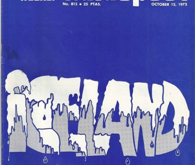 """GUIDEPOST REPRINT FEATURING ICELAND: """"THE GREEN LAND OF ICELAND,"""" 12 October 1973"""
