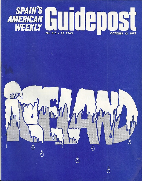 "GUIDEPOST REPRINT FEATURING ICELAND: ""THE GREEN LAND OF ICELAND,"" 12 October 1973"