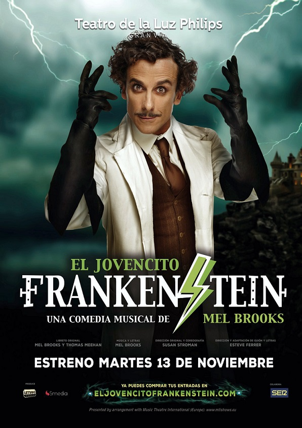 YOUNG FRANKENSTEIN: WHEN IN SPAIN, CALL HIM EL JOVENCITO FRANKENSTEIN