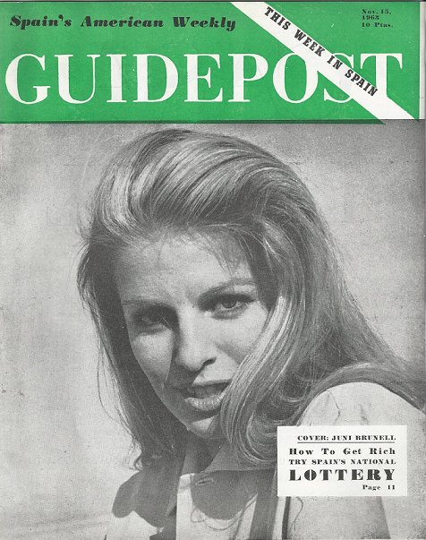 "GUIDEPOST REPRINT: ""HOW TO GET RICH:  TRY SPAIN'S NATIONAL LOTTERY,"" 15 November 1963"