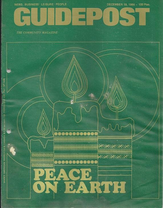 "A GUIDEPOST REPRINT: ""CHRISTMAS CUSTOMS HERE,"" 19 December 1986"
