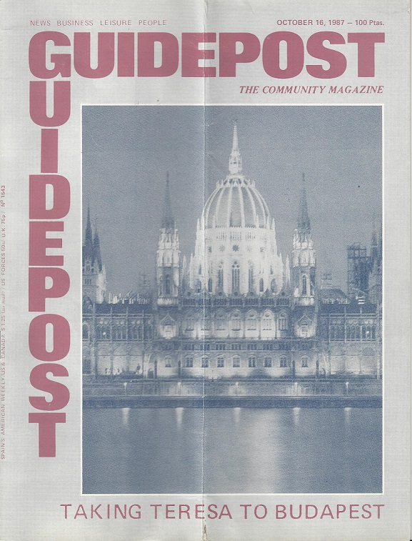 "A GUIDEPOST REPRINT: ""TAKING TERESA TO BUDAPEST,"" 16 OCTOBER 1987"